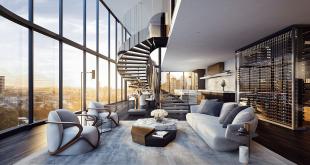 Thiết kế nội thất penthouse 1