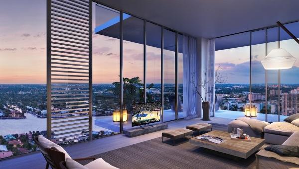 Penthouse hiện đại sang trọng