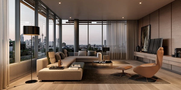Penthouse hiện đại