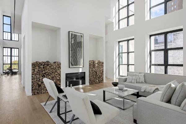 Thiết kế Penthouse Bắc Âu